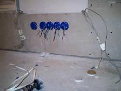 Электромонтажные работы в квартирах новостройках в Белгороде. Электромонтаж компанией Русский электрик